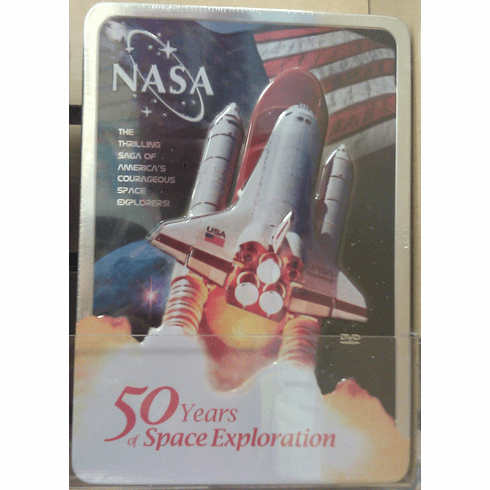 NASA 50 Years of Space Exploration DVD Set