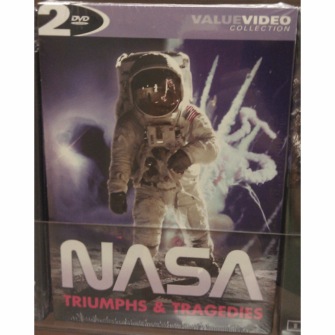NASA Triumphs and Tragedies DVD Pack