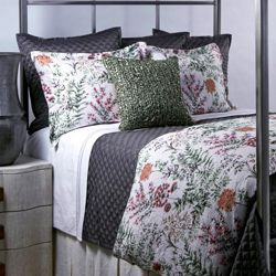 Botanical Crinkle Duvet Set
