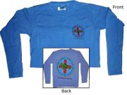 Clearance Ladies Style Long Sleeve Blue
