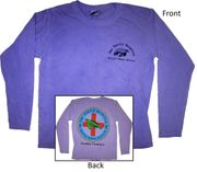 Clearance Ladies Style Long Sleeve Violet
