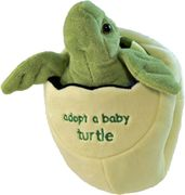 Plush Baby Sea Turtle with Egg