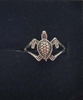 Sterling Silver Sea Turtle Ring (small turtle)