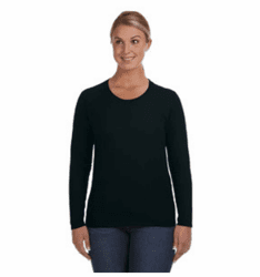 Anvil 884L Ladies Lightweight Long Sleeve Crew Neck