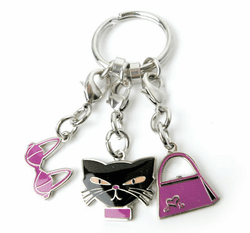 """Bad Girl"" Sexy Key Ring"