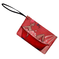 """Bubble Bath Diva"" Wristlet"