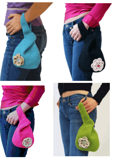 City Knit Pouch (choice of 4 colors)
