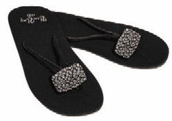 Fancy FlexFlop with Crystallized Rectangle (Large)