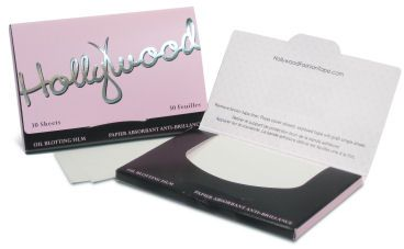Hollywood Facial Oil Blotting Sheets