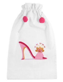 Miami Pink Shoe Bag: Only 1 left!