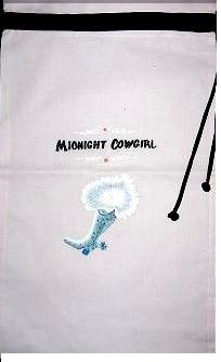 Midnight Cowgirl Knee-High Boot Bags - SET of 2