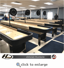 22' OFFICIAL TABLE of the 2018 WANDERING WOMEN of the WORLD SHUFFLEBOARD TOURNAMENT