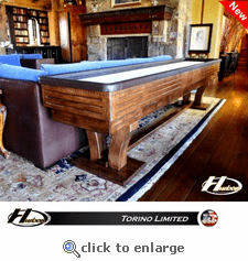 Torino Limited - DEMO with Rich Walnut Stain!  12' Length