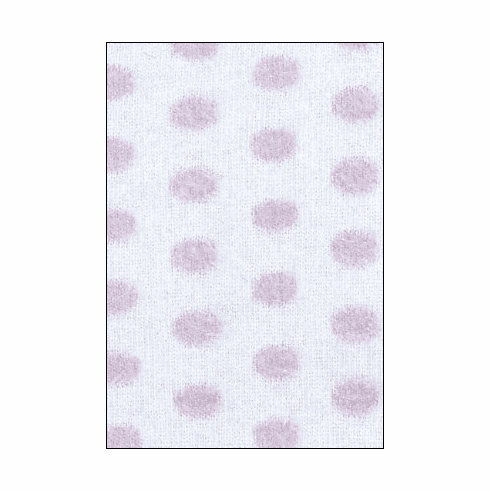Country Kids white/lilac fuzzy dots tights