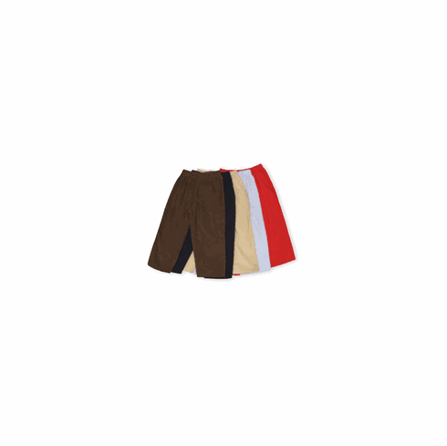 Luigi boys clothes Jeff twill pants that come in khaki, sky blue, red, and brown. Classic and holds up well.