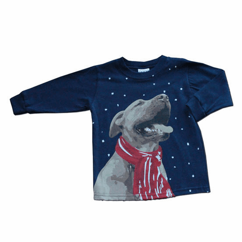 Mulberribush Howling Dog with a dog with bandana. Great seller.