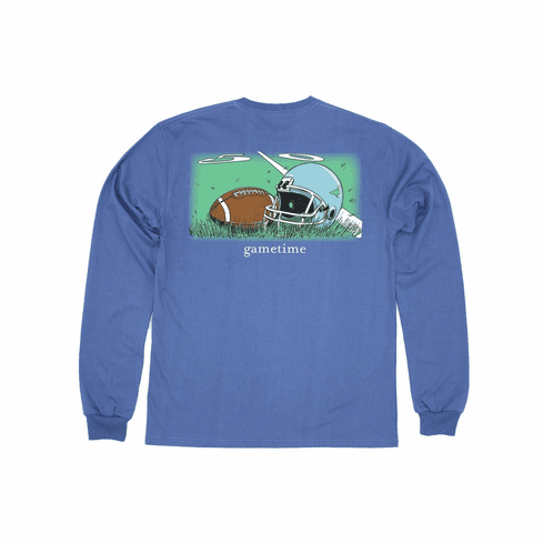 Properly Tied Gametime Long Sleeve Pocket Tee. Peruvian Pima Cotton. This is the back of the shirt.