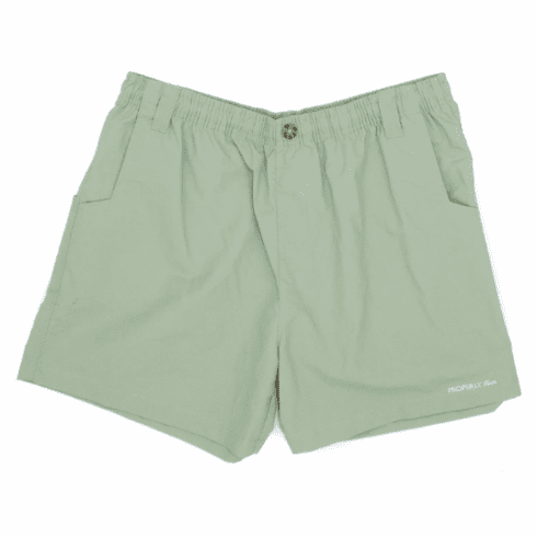 Properly Tied Olive Mallard Short or Swim Trunks. Quick Dry Material.