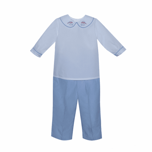 Remember Nguyen Boys Snowman Pant Set.