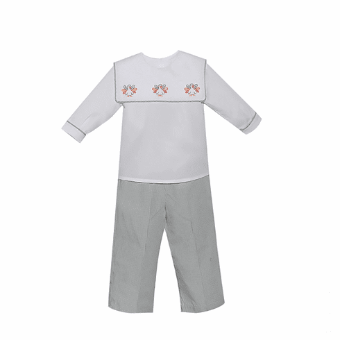 Remember Nguyen Boys Turkey Pant Set.