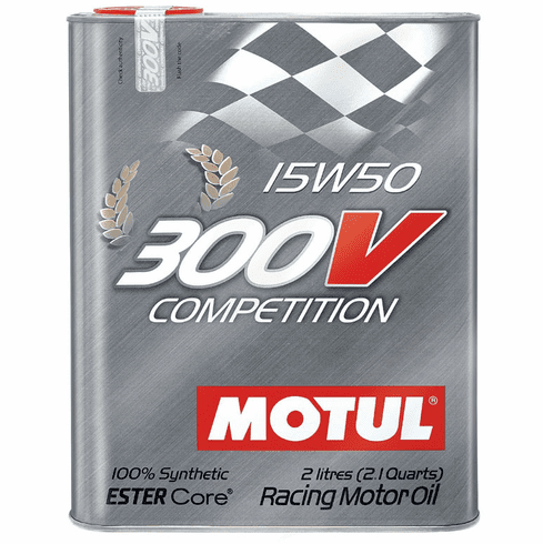300V 15W50 Competition