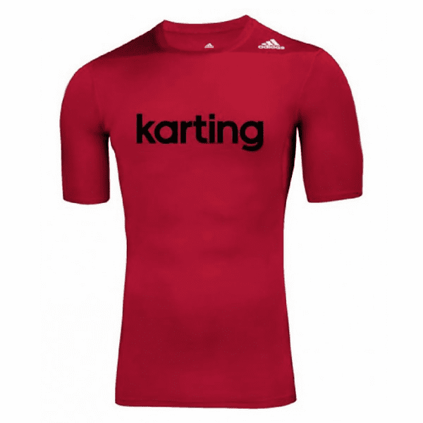 adidas Techfit Kart SS Top