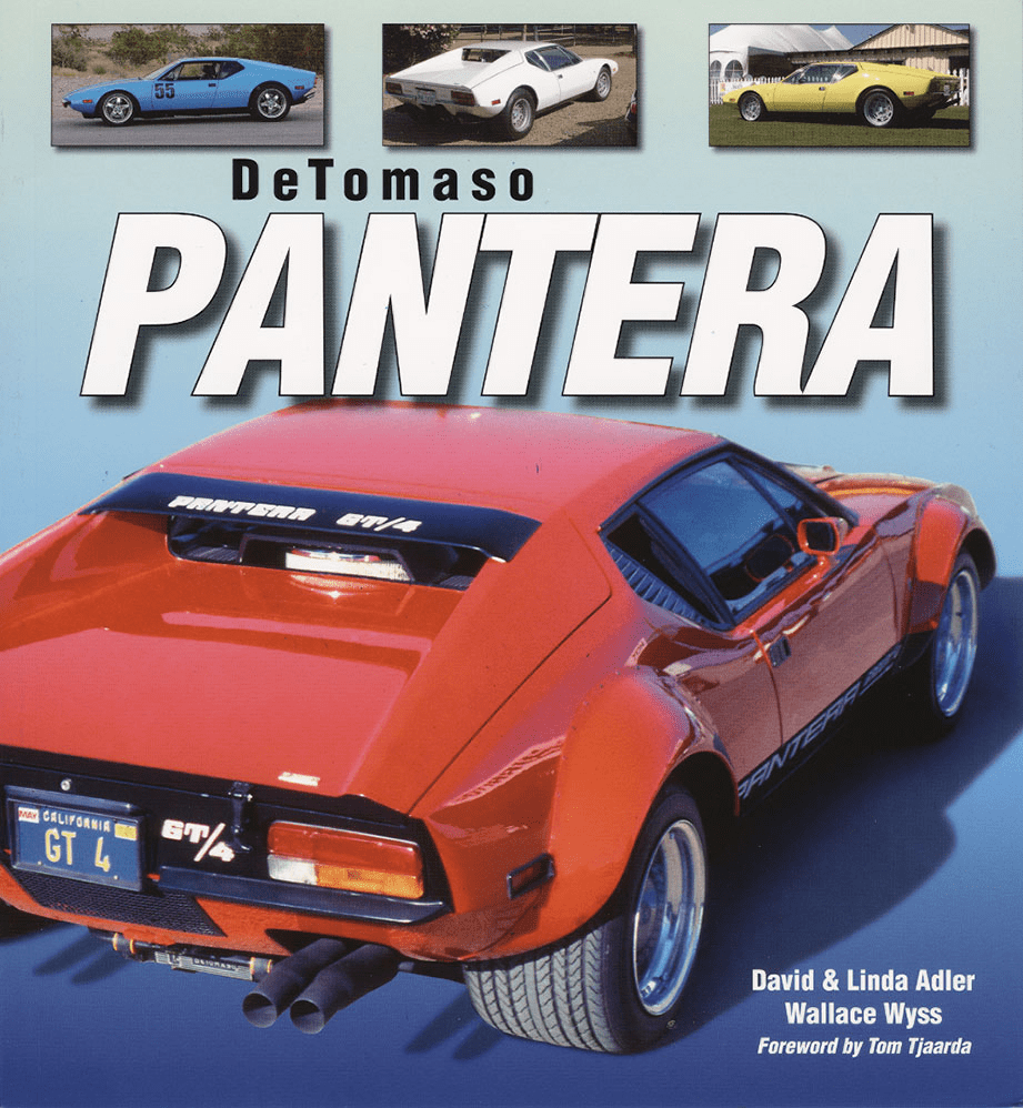 DeTomaso Pantera - The Book