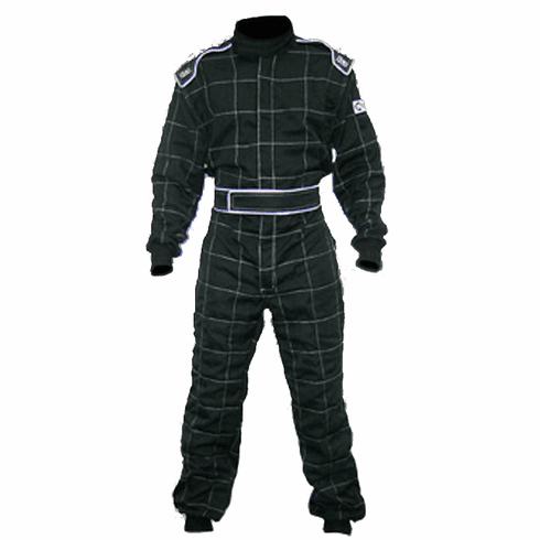 KI Vintage Nomex Racing Suit - Black