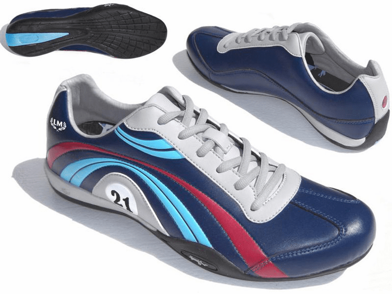 LeMans Official Leather Casual Driving Shoe
