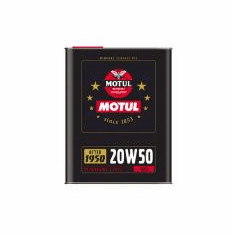 Motul 20W50 for engines built between 1950 and 1970