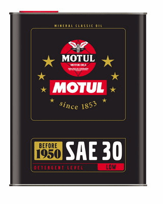 Motul Lubricants for engines built before 1950, after 1950 and after 1970