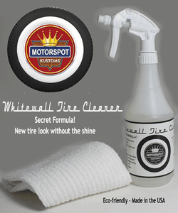Whitewall Tire Cleaner