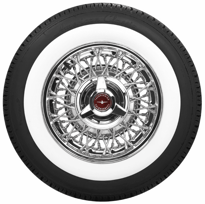 Whitewall Tires & Wire Wheels