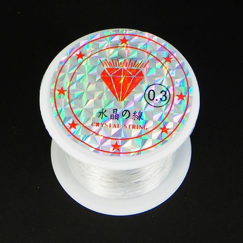 0.3mm Crystal String Clear Nylon Thread 5 Meters