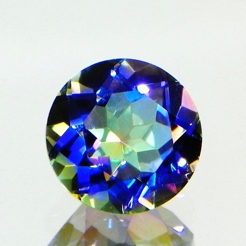 10mm Round Natural Blue Rainbow Quartz 3.35cts