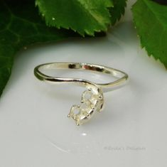 2 Stone (3mm) Friendship Sterling Silver Ring Setting