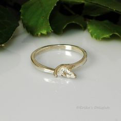 4mm - 8mm Pearl / Bead Sterling Silver Ring Setting (# 803)