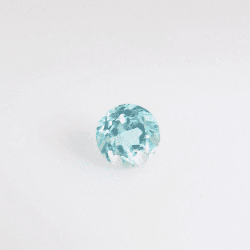 6mm Natural Sky Blue Topaz Round 1.12cts