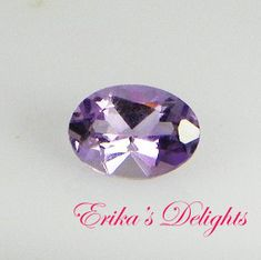 7x5 Oval Natural Amethyst