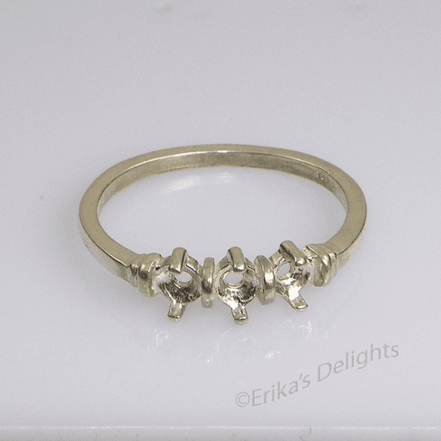 Round Mothers Ring (3mm)