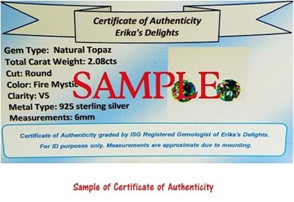 Sample & Details of Certificate Click Here
