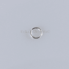 Sterling Silver 4mm Round  Open Jump Ring 1pc