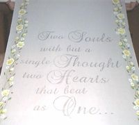 Two Souls Verse Aisle Runner