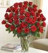 48 Stem Red Roses 4 dozen