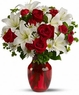 Be My Love Bouquet with Red Roses