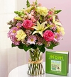Book and Bouquet for Mom