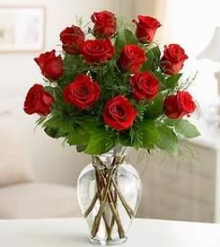 Dozen Long-Stemmed Roses Love and romance
