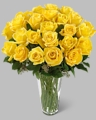 Long Stem Yellow Rose Bouquet 24 rose