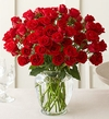 Love and Romace 4 Dozen red rose