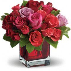 Love Bouquet with Red Roses